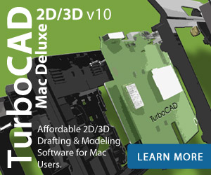 TurboCAD Mac Deluxe - design with powerful 2D/3D drafting and ACIS modeling tools without sacrificing speed or ease of use.