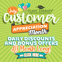 Customer Appreciation Month at Plant Therapy! Enjoy Daily Discounts up to 20% off, Plus Daily Bonus