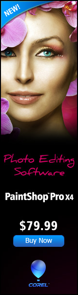 PaintShop Photo Pro X3 Editing Software