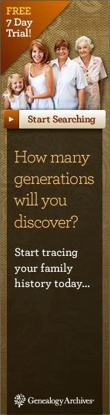 Start tracing your family history today at Genealogy Archives