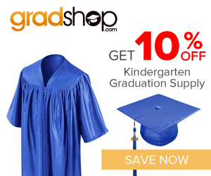Christian Graduation kindergarten robes and appearal