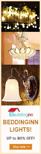Up to 80% Off High Quality Lights at Beddinginn.com