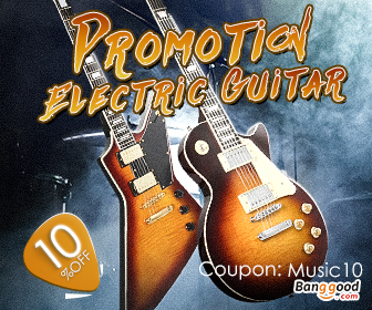 10% OFF for Electric Guitar