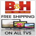 Free Shipping on ALL TVs