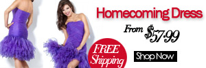 Homecoming Dress Free Shipping