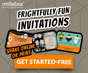 Make frightfully fun cards, collages, and invites with Smilebox.