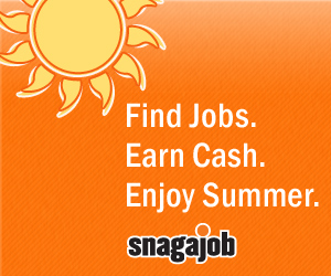 SnagAJob.com Summer Jobs