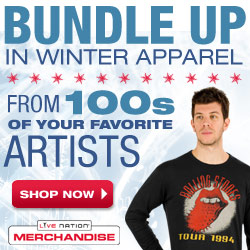 Live Nation Store - Winter Apparel