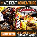 Chaparral Motorsports Dirt Bike Rentals