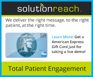 Solutionreach - Bridging the Gap between doctors and patients