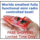 mini rc boats