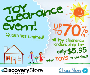 Shop the Discovery Channel Toy Clearance Event