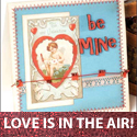 download free Valentine card pattern