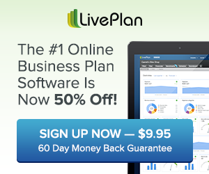 Get 50% Off The #1 Business Planning Software - Start Today For Only $9.95