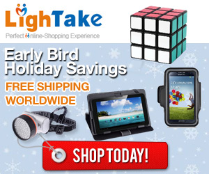 Get in on the Early Bird holiday savings with LighTake.com!