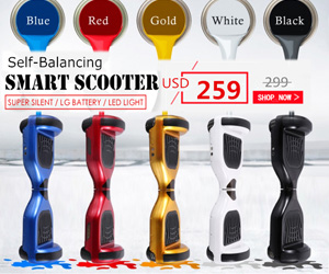 Self-balancing smart scooter, $40 off!!