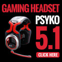 Psyko 5.1 Surround Sound Gaming Headsets