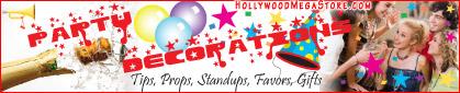 Party Decoration Ideas & Supplies!
