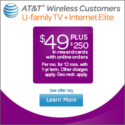 AT&T U&#8209verse TV, Internet & Voice