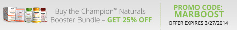 Buy the Champion Naturals Booster Bundle - Get 25% Off