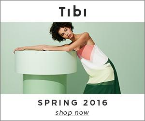 TIBI Spring 2016 Collection