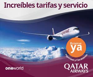 Qatar Airways en el Aeropuerto de Barcelona