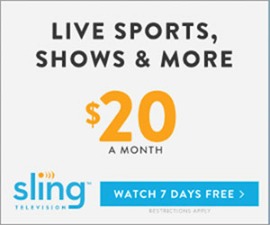 Sling TV LLC Watch 7 Days Free