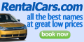 RentalCars- Up to 25% off all rental cars