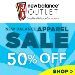New Balance Apparel Sale 50% Off