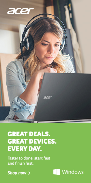 Great Deals. Great Devices. Every Day. Shop the Acer Store Now!