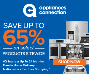No Sales Tax at Appliances Connection