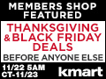 Deals on Kmart Black Friday Doorbusters - Early Access to SYWM Members