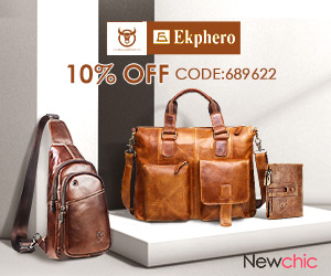 Brand Sale - 10% OFF for Men's Bags