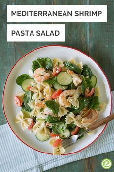 Mediterranean Shrimp Salad Recipe