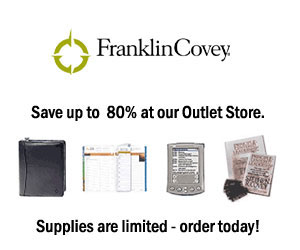 Visit the Franklin Covey Outlet Store!