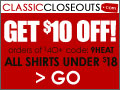 ClassicCloseouts up to 90% OFF