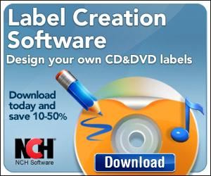 CD/DVD Label Maker Software