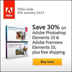 30% off Premiere Elements Photoshop Elements