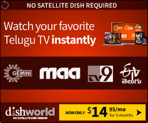 Watch Telugu TV Instantly
