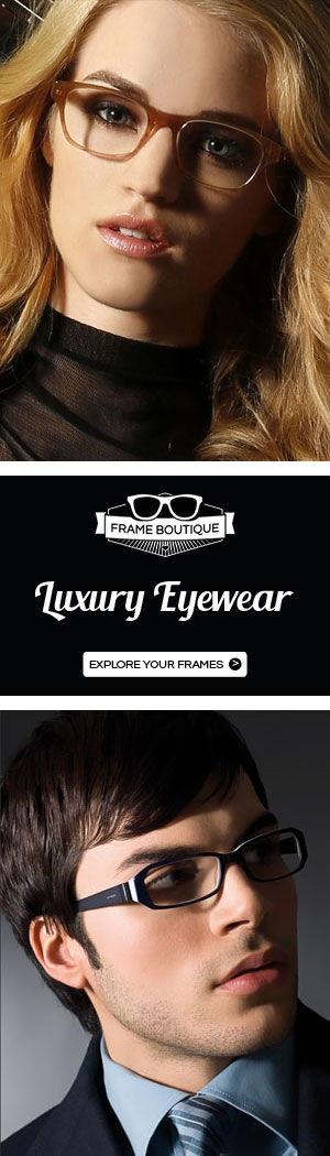 Designer Eyeglasses and Sunglasses at Frame Boutique