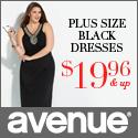 Plus Size Black Dresses at Avenue