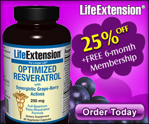 Resveratrol - 25% OFF Coupon