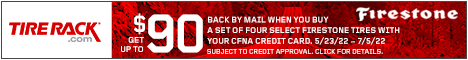 Get a $75 Gift Card from Continental Tires