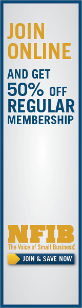 Join NFIB Online and get 50% off membership!