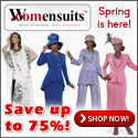 Spring is here! Save up to 75% at Womensuits.com!