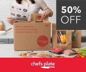 Get 50% Off Your First Chefs Plate Order!