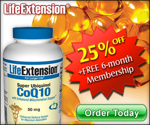 Super Ubiquinol CoQ10 - 25% OFF Coupon