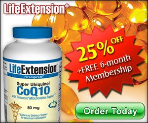 Super Ubiquinol Coenzyme Q10 - Life Extension