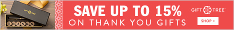 Save Up To 15% On Thank You Gifts - Shop