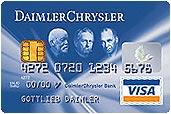 DaimlerChrysler Card - VISA kostenlos